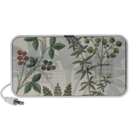 Ferns, Brambles and Flowers Portable Speaker