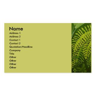 Ferns Business Card