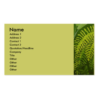 Ferns Business Cards