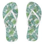 Ferns & Palms Flip Flops