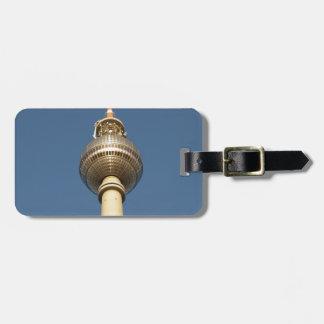 Fernsehturm Berlin Luggage Tag