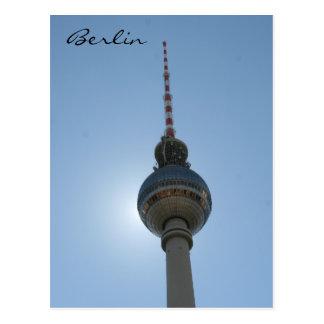 fernsehturm berlin postcard