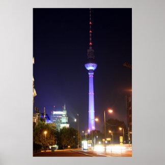 Fernsehturm berlinés impresiones