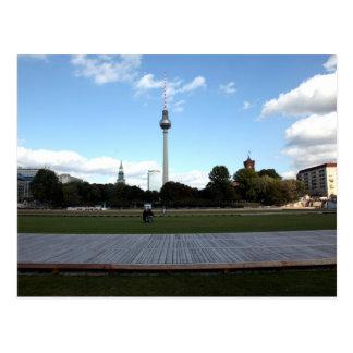 Fernsehturm berlinés postales