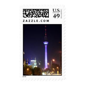 Fernsehturm berlinés sellos