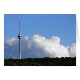 Fernsehturm De Stuttgart Tarjeta De Felicitación