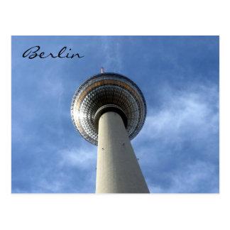 fernsehturm east berlin postcard