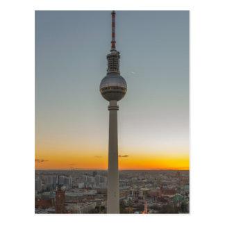 Fernsehturm torre de Berlín, Berlín TV, Alemania Postales