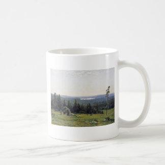 Fernsicht Kaman River By Schischkin Iwan Iwanowits Coffee Mugs