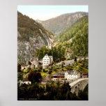 Fernstein el Tyrol Austro-Hungría Posters