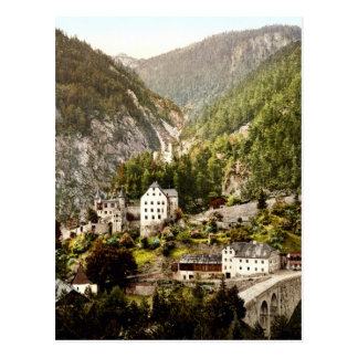 Fernstein el Tyrol Austro-Hungría Tarjeta Postal