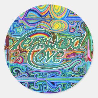 Fernwood Cove art sticker