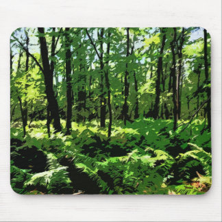 """""""Ferny Forest"""" Mouse Pad"""