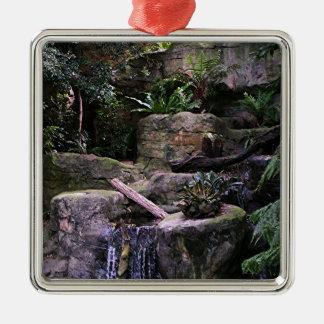Ferny grotto metal ornament