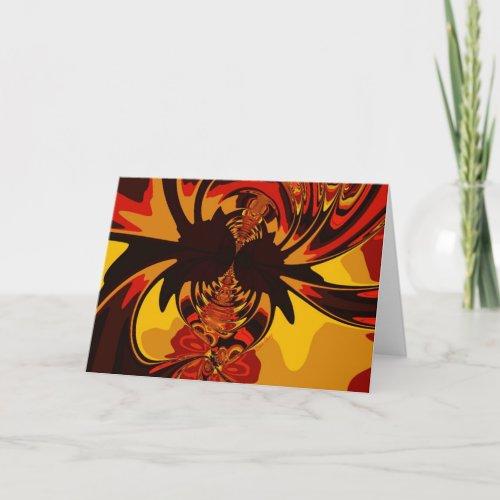 Ferocious – Amber & Orange Creature Card