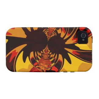Ferocious – Amber & Orange Creature iPhone 4/4S Cover