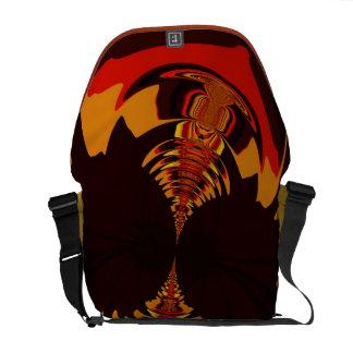 Ferocious – Amber & Orange Creature Courier Bag