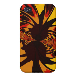 Ferocious – Amber & Orange Creature Cover For iPhone 4