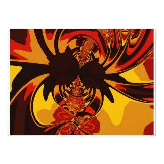 Ferocious – Amber & Orange Creature Custom Invites