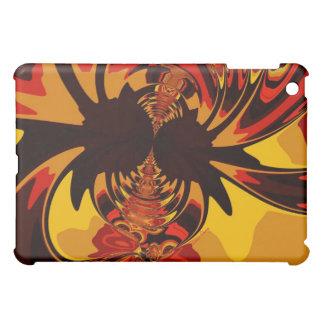 Ferocious – Amber & Orange Creature iPad Mini Covers