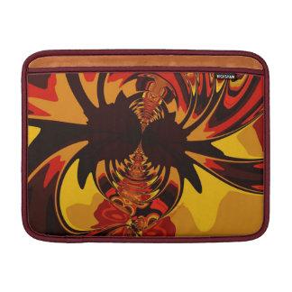 Ferocious – Amber Orange Creature MacBook Sleeve