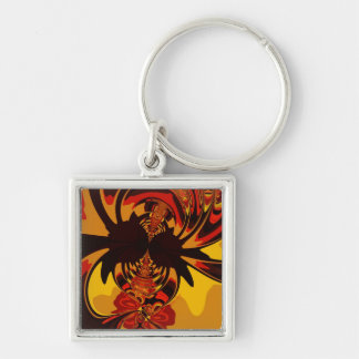 Ferocious – Amber & Orange Creature Keychain