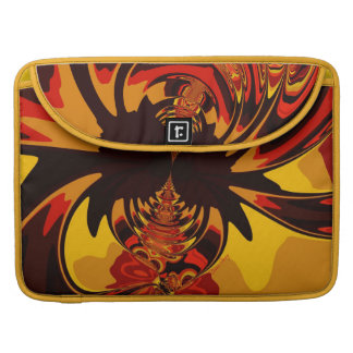 Ferocious – Amber Orange Creature Sleeves For MacBook Pro