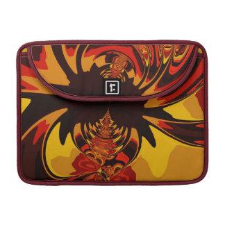 Ferocious – Amber Orange Creature MacBook Pro Sleeves
