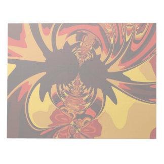 Ferocious – Amber & Orange Creature Notepad