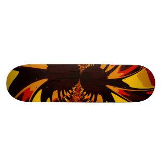Ferocious – Amber & Orange Creature Skateboard