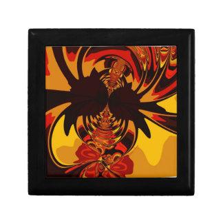 Ferocious – Amber & Orange Creature Trinket Boxes