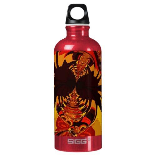Ferocious – Amber & Orange Creature Water Bottle