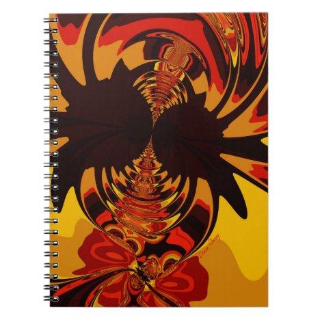 Ferocious – Amber & Orange Critter Notebook