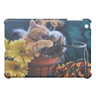 Ferocious Cat, Kitty biting a Kitten ~ Evil Cat iPad Mini Cases