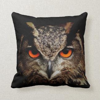 Ferocious Owl Pillows