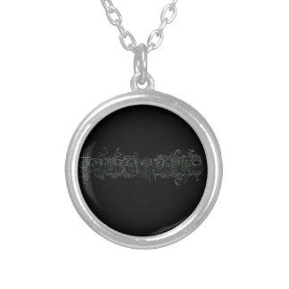 Ferocious Round Pendant Necklace
