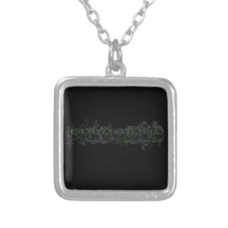 Ferocious Square Pendant Necklace