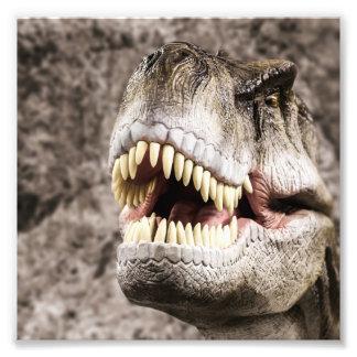 Ferocious T-Rex Head Photo Print