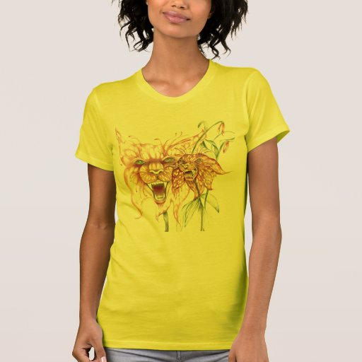 Ferocious Tiger Lily T Shirts