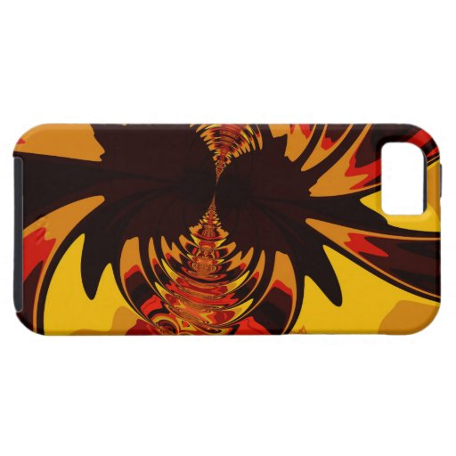Feroz - criatura ambarina y anaranjada iPhone 5 cobertura