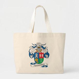 Ferrandez Family Crest Jumbo Tote Bag