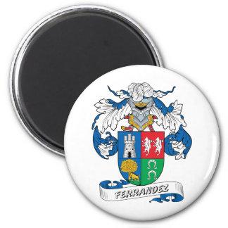 Ferrandez Family Crest 2 Inch Round Magnet