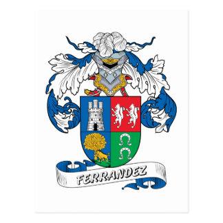 Ferrandez Family Crest Postcard
