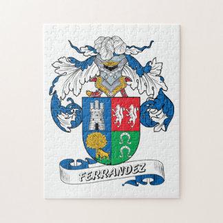 Ferrandez Family Crest Puzzles