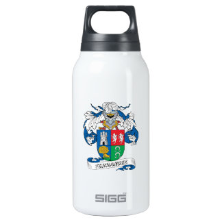 Ferrandez Family Crest 10 Oz Insulated SIGG Thermos Water Bottle