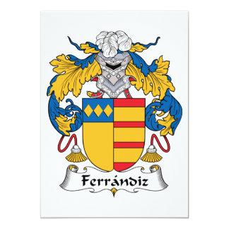 Ferrandiz Family Crest Invitations