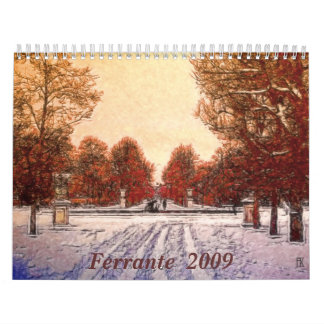 Ferrante  2009 calendar