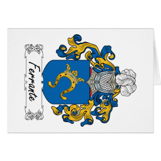 Ferrante Family Crest Greeting Card