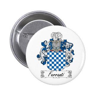 Ferranti Family Crest Pins