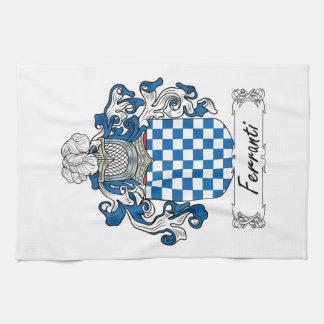 Ferranti Family Crest Hand Towel